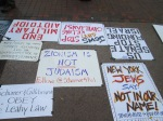 sign - Zionism Is Not Judaism